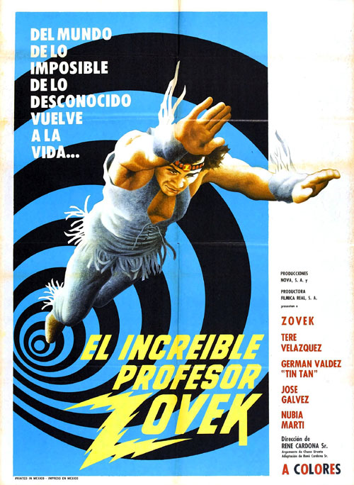 Unknown poster from the movie The Incredible Professor Zovek (El increíble profesor Zovek)