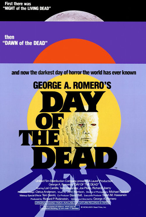 Us poster from the movie Day of the Dead