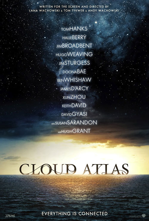 Affiche internationale de 'Cloud Atlas'