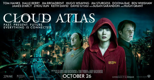 Affiche américaine de 'Cloud Atlas'