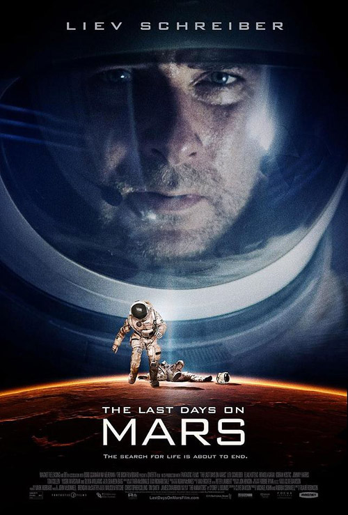Affiche américaine du film Last Days on Mars