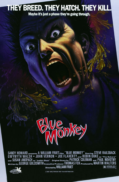 Unknown poster from the movie Blue Monkey