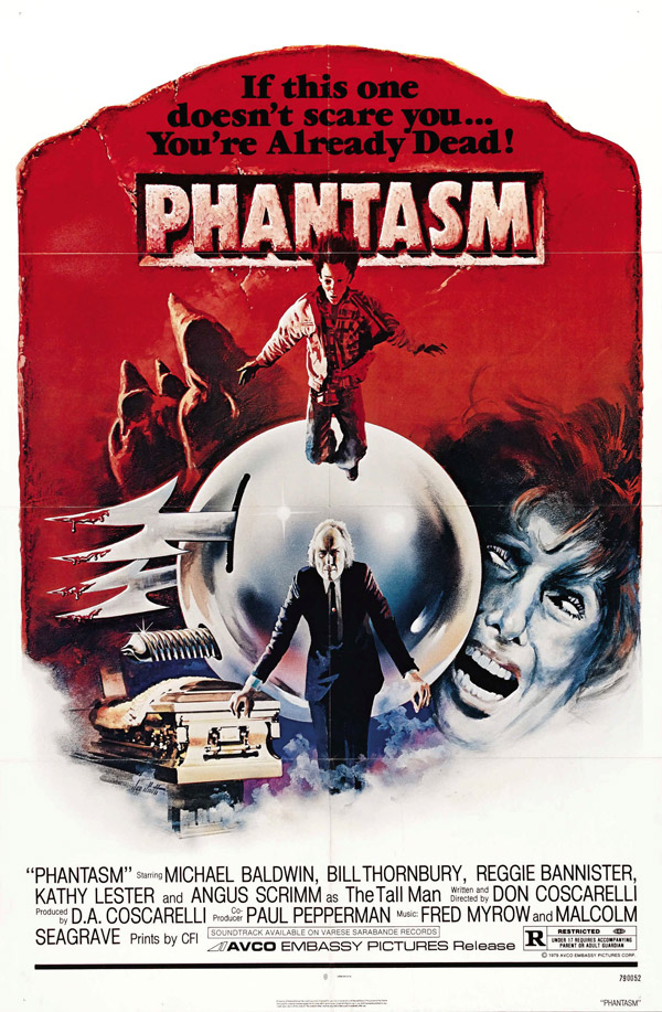 Us poster from the movie Phantasm