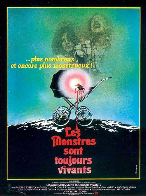 French poster from the movie It Lives Again
