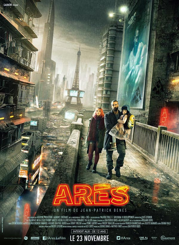 French poster from the movie Arès