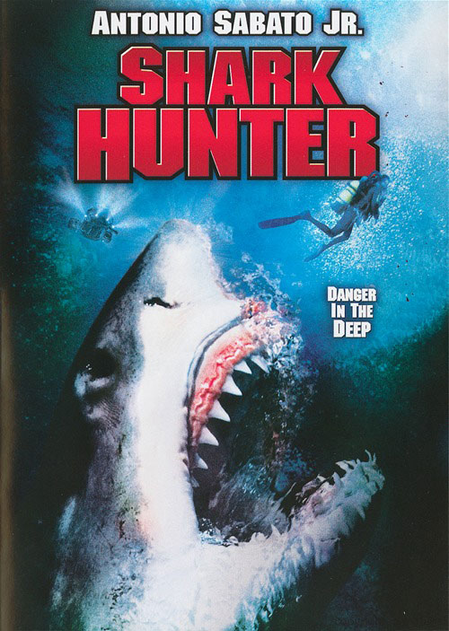 French poster from the movie Shark Hunter