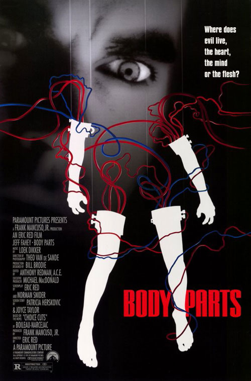 Us poster from the movie Body Parts