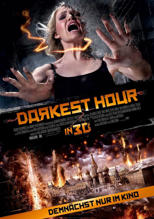 Affiche allemande de 'The Darkest Hour'