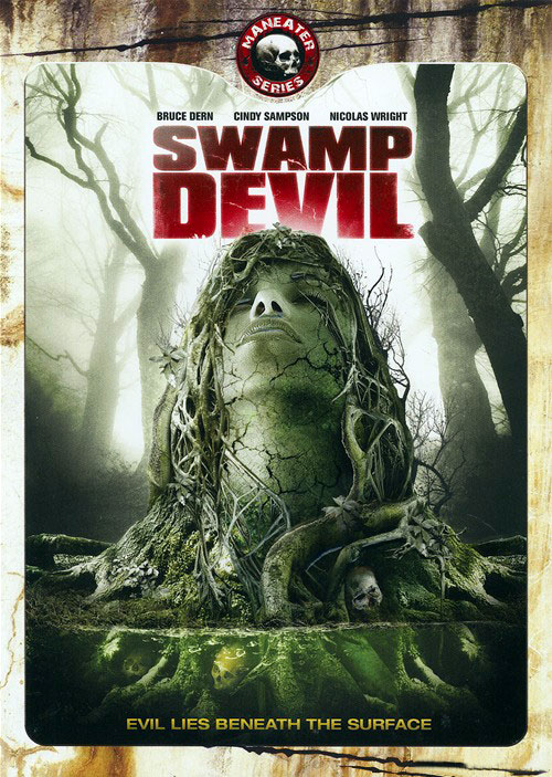 Unknown artwork from the movie Swamp Devil