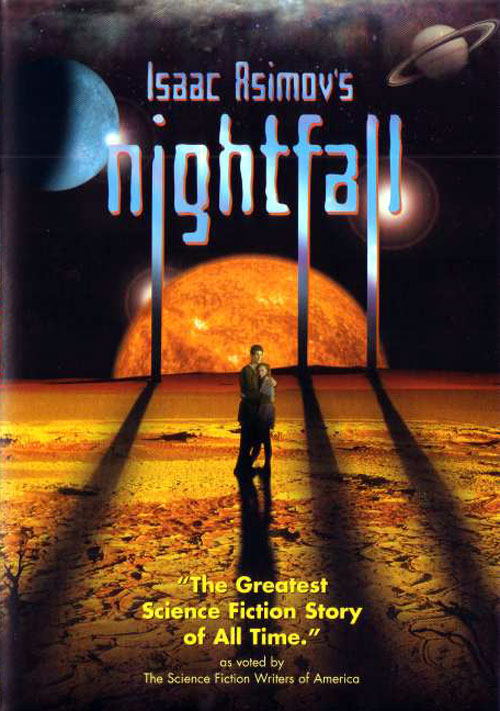 French poster from the movie Nightfall