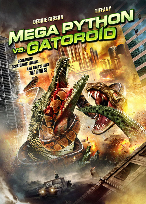 Us poster from the TV movie Mega Python vs. Gatoroid