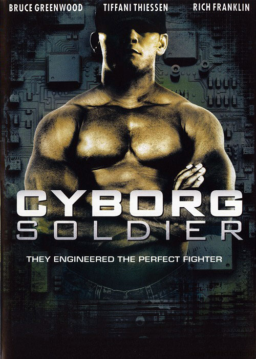 Unknown poster from the movie Cyborg Soldier