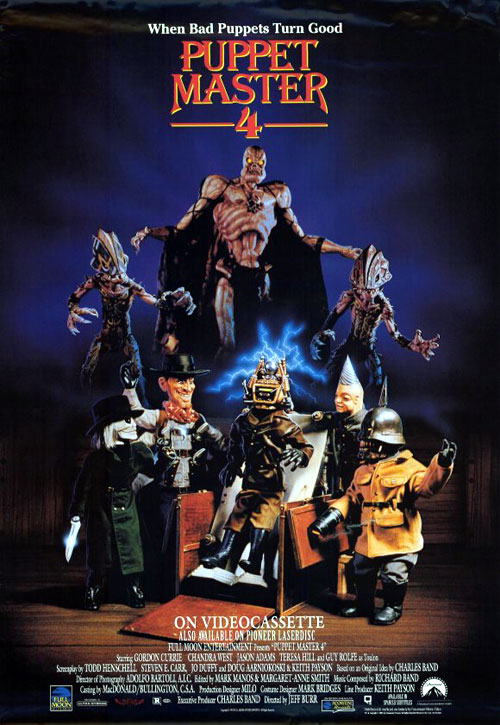 Us poster from the movie Puppet Master 4