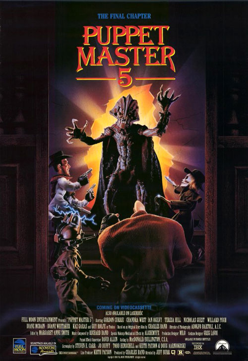Us poster from the movie Puppet Master 5: The Final Chapter