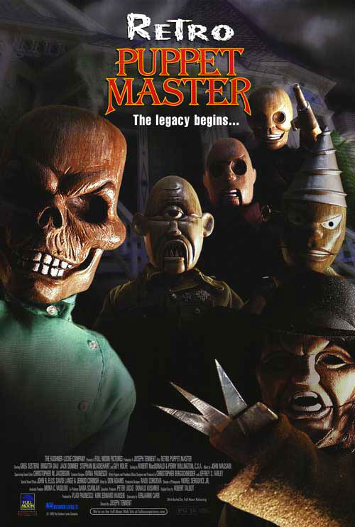 Us poster from the movie Retro Puppet Master