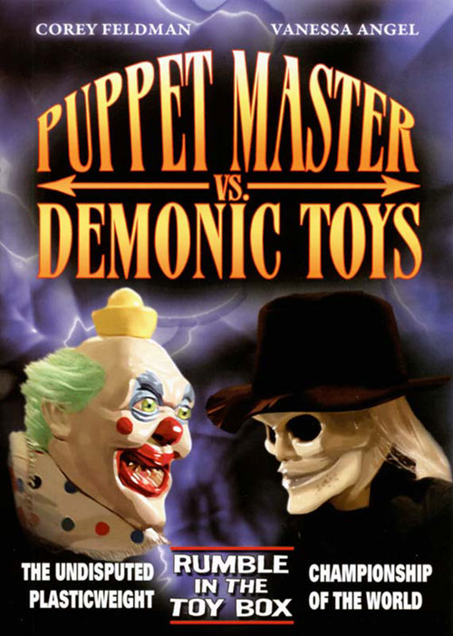 Unknown artwork from the TV movie Puppet Master vs Demonic Toys