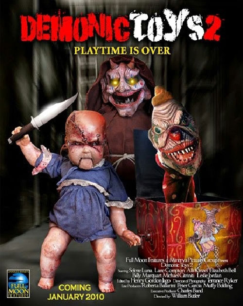 Us poster from the movie Demonic Toys: Personal Demons