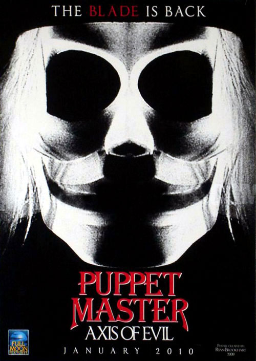 Us poster from the movie Puppet Master: Axis of Evil