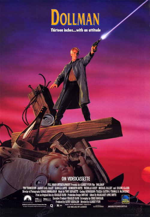 Us poster from the movie Dollman
