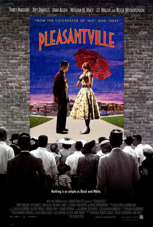 Us poster from the movie Pleasantville