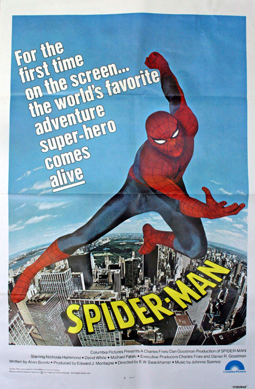 French poster from the movie The Amazing Spider-Man
