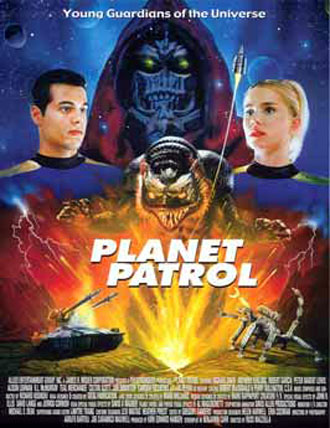 Us poster from the movie Planet Patrol