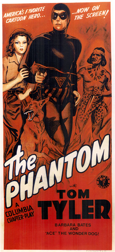 Affiche américaine de 'The Phantom'