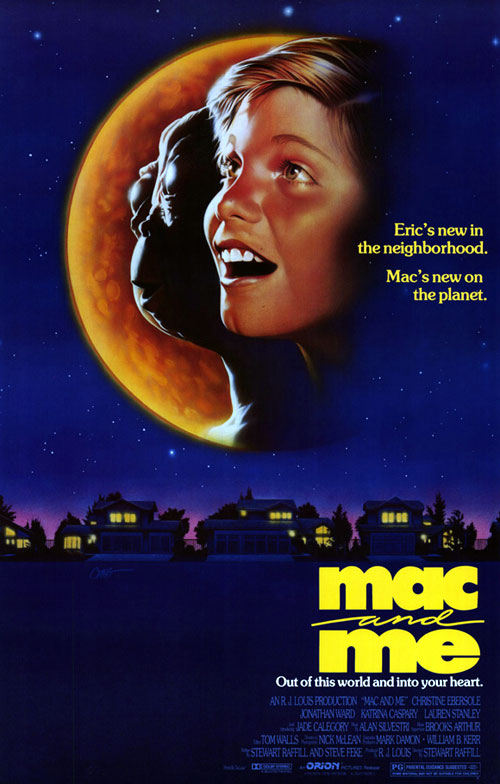 Us poster from the movie Mac and Me