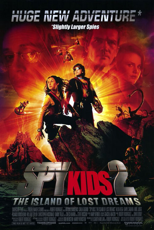 Us poster from the movie Spy Kids 2: Island of Lost Dreams