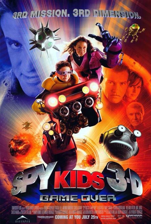 Us poster from the movie Spy Kids 3-D: Game Over