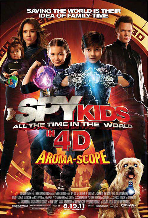 Us poster from the movie Spy Kids 4: All the Time in the World