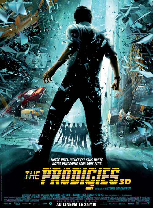 French poster from the movie The Prodigies