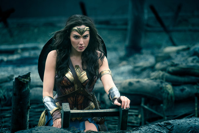 Photo de 'Wonder Woman' - ©2016 Warner Bros. Photo Credit: Clay Enos - Wonder Woman (Wonder Woman) - cliquez sur la photo pour la fermer