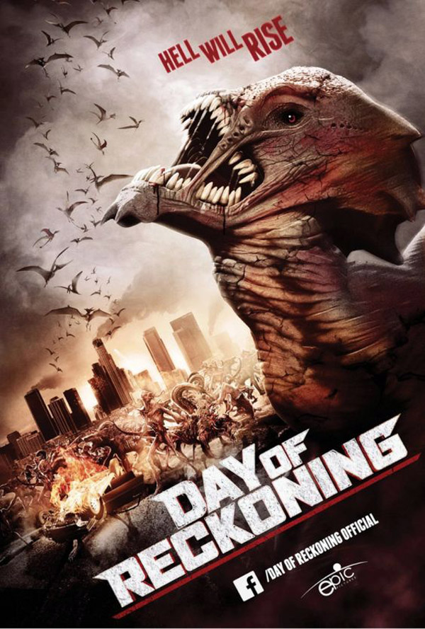 International poster from the movie Day of Reckoning