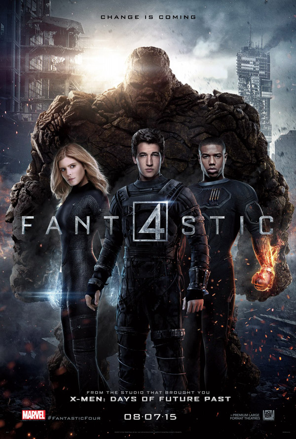 Us poster from the movie The Fantastic Four