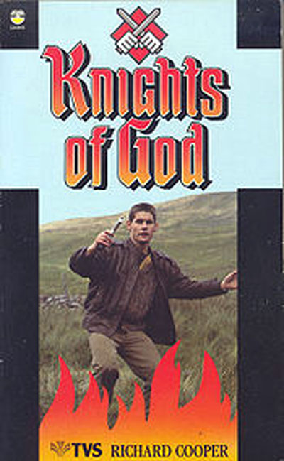 French poster from the series Knights of God