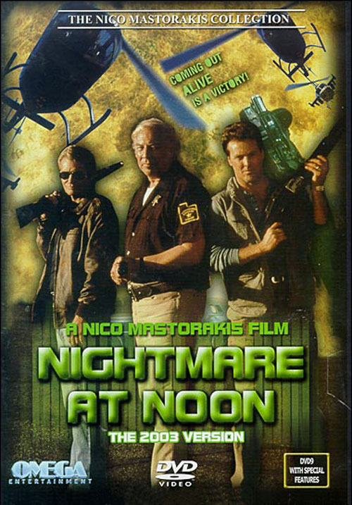 French poster from the movie Nightmare at Noon
