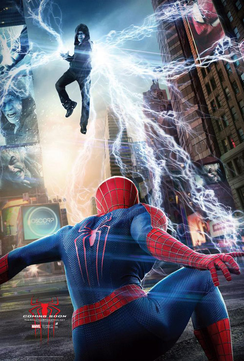 Us poster from the movie The Amazing Spider-Man 2