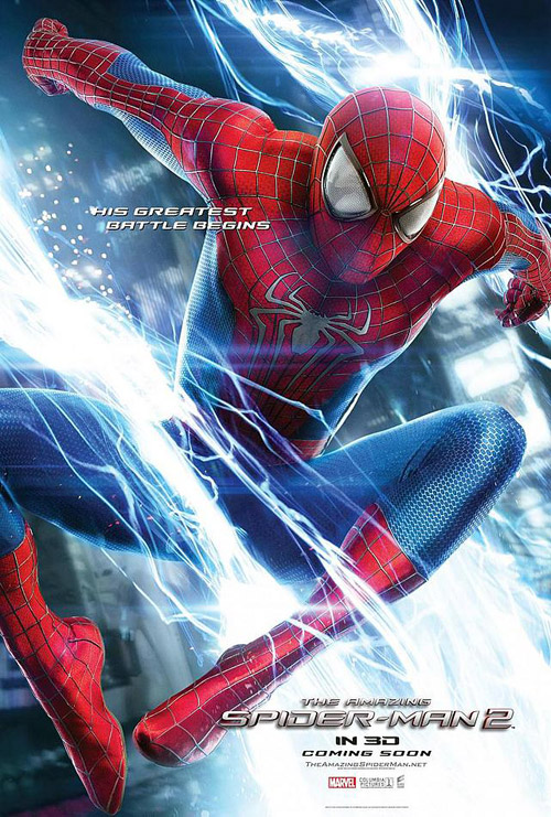 Affiche américaine de 'The Amazing Spider-Man, le destin d'un héros'