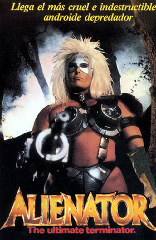 Unknown artwork from the movie Alienator