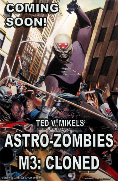 Us poster from the movie Astro Zombies: M3 - Cloned