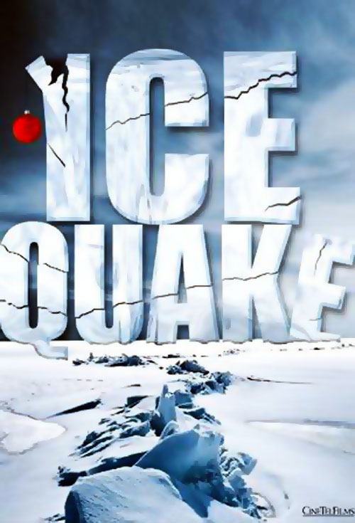 French poster from the TV movie Ice Quake