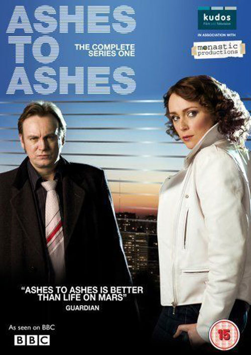 Visuel britannique de 'Ashes to Ashes'