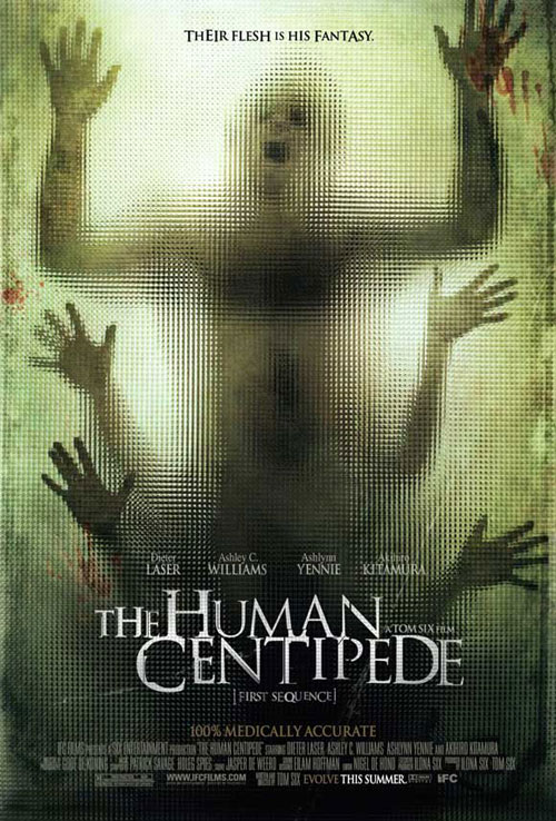 Us poster from the movie The Human Centipede (First Sequence)