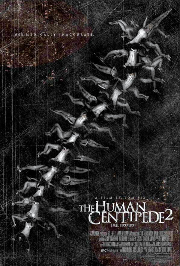 Unknown poster from the movie The Human Centipede II (Full Sequence)