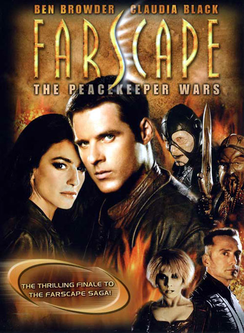 French poster from the series Farscape: The Peacekeeper Wars