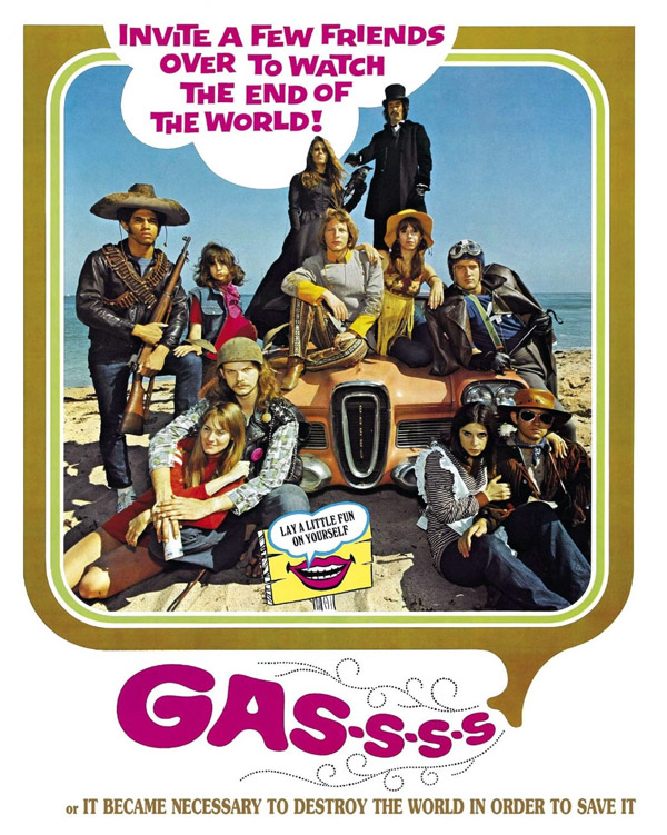 Affiche inconnue du film Gassss (Gas! -Or- It Became Necessary to Destroy the World in Order to Save It.)