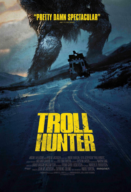 Us poster from the movie TrollHunter (Trolljegeren)