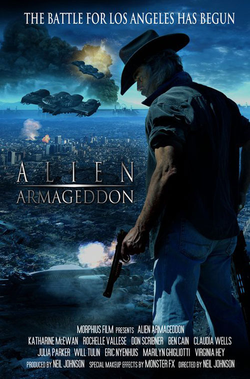 Us poster from the movie Alien Armageddon