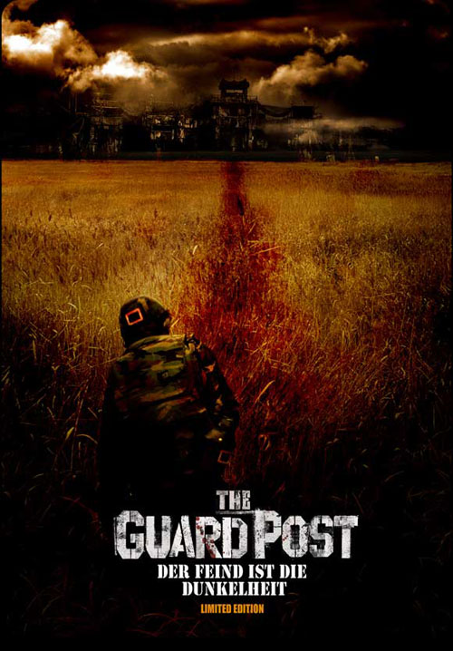 Affiche allemande de 'The Guard Post'